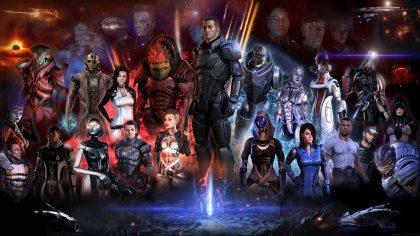 Les personnages de Mass Effect